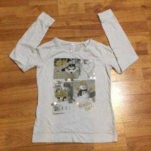 "Girl's ""Winter Fun"" long sleeve shirt"